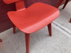 Charles and Ray Eames Set of Four Eames for Herman Miller DCW Chairs - 1017042