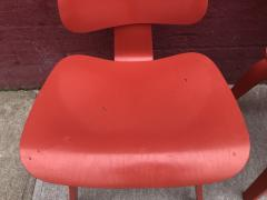 Charles and Ray Eames Set of Four Eames for Herman Miller DCW Chairs - 1017045