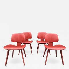 Charles and Ray Eames Set of Four Eames for Herman Miller DCW Chairs - 1017686