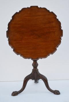 Charleston Chippendale Mahogany Tea Table circa 1765 - 1146862