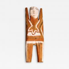 Charlie Willeto Navajo Folk Art Figure Man with Necklace Charlie Willeto - 1719495