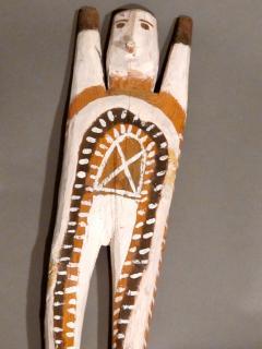 Charlie Willeto Navajo Folk Art Man with X on chest - 1718593