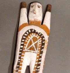Charlie Willeto Navajo Folk Art Man with X on chest - 1718594