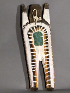 Charlie Willeto Navajo Folk Art Man with X on chest - 1718595