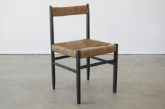 Charlotte Perriand CHARLOTTE PERRIAND ATTRIBUTED DINING CHAIRS FOR ROBERT SENTOU SET OF 8 - 1885178