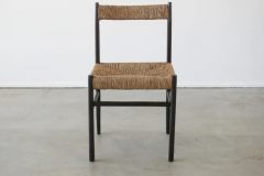 Charlotte Perriand CHARLOTTE PERRIAND ATTRIBUTED DINING CHAIRS FOR ROBERT SENTOU SET OF 8 - 1885179