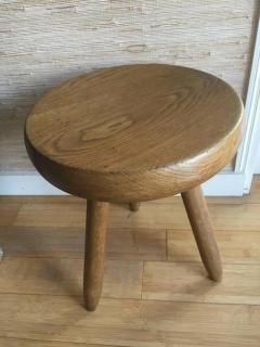 Charlotte Perriand Charlotte Perriand 1950s High Tripod Ash Tree Stool in Vintage Condition - 365930