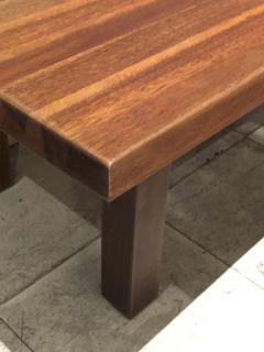 Charlotte Perriand Charlotte Perriand Brazil organic mahogany coffee table - 1079801