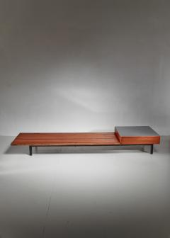 Charlotte Perriand Charlotte Perriand Cansado Slat Bench with Drawer 1950s - 920329