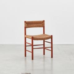 Charlotte Perriand Charlotte Perriand Dordogne chairs Robert Sentou France c1950 8 available - 1130849
