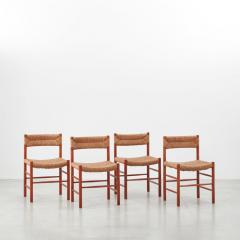 Charlotte Perriand Charlotte Perriand Dordogne chairs Robert Sentou France c1950 8 available - 1130851