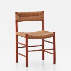 Charlotte Perriand Charlotte Perriand Dordogne chairs Robert Sentou France c1950 8 available - 1131888