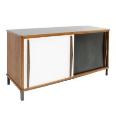 Charlotte Perriand Charlotte Perriand Lacquered Wood And Metal Cansado Sideboard France 70s - 860018