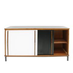 Charlotte Perriand Charlotte Perriand Lacquered Wood And Metal Cansado Sideboard France 70s - 860019
