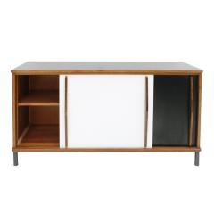 Charlotte Perriand Charlotte Perriand Lacquered Wood And Metal Cansado Sideboard France 70s - 860020