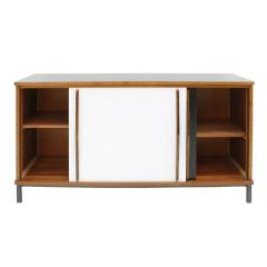 Charlotte Perriand Charlotte Perriand Lacquered Wood And Metal Cansado Sideboard France 70s - 860021