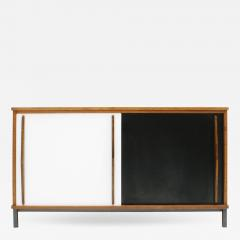 Charlotte Perriand Charlotte Perriand Lacquered Wood And Metal Cansado Sideboard France 70s - 862270