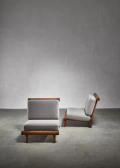 Charlotte Perriand Charlotte Perriand chairs from La Chachette France - 1225015