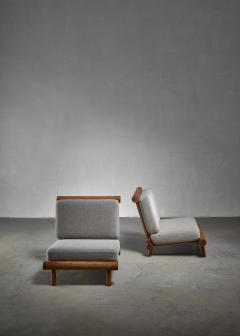Charlotte Perriand Charlotte Perriand chairs from La Chachette France - 1225017
