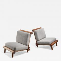 Charlotte Perriand Charlotte Perriand chairs from La Chachette France - 1225501