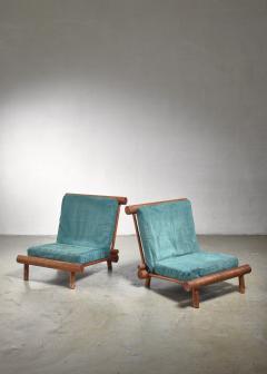 Charlotte Perriand Charlotte Perriand chairs from Les Arcs - 1559530