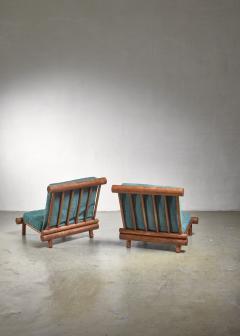 Charlotte Perriand Charlotte Perriand chairs from Les Arcs - 1559532
