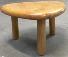 Charlotte Perriand Charlotte Perriand for Meribel tripod pine coffee table - 1002259