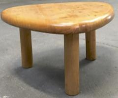 Charlotte Perriand Charlotte Perriand for Meribel tripod pine coffee table - 1002263