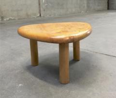 Charlotte Perriand Charlotte Perriand for Meribel tripod pine coffee table - 1002269