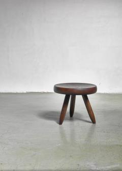 Charlotte Perriand Charlotte Perriand low tripod stool France 1950s - 965311