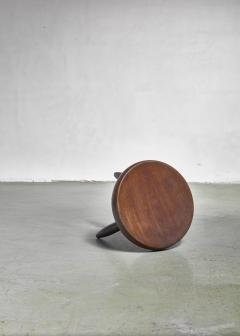 Charlotte Perriand Charlotte Perriand low tripod stool France 1950s - 965312