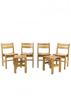 Charlotte Perriand Charlotte Perriand set de stools chairs - 2024843