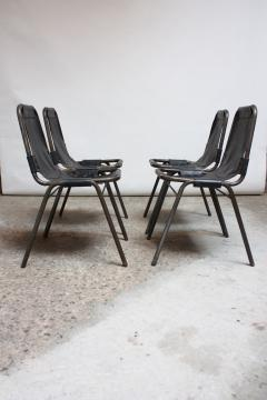 Charlotte Perriand Early Set of Four Les Arcs Chairs by Charlotte Perriand - 553335