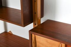 Charlotte Perriand Mid century modern shelve unit in the style of Perriand and Le Corbusier - 1638353