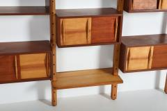 Charlotte Perriand Mid century modern shelve unit in the style of Perriand and Le Corbusier - 1638355