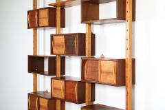 Charlotte Perriand Mid century modern shelve unit in the style of Perriand and Le Corbusier - 1638362