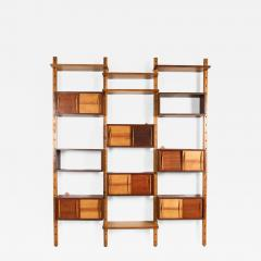 Charlotte Perriand Mid century modern shelve unit in the style of Perriand and Le Corbusier - 1639229