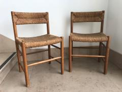 Charlotte Perriand Pair of Dordogne Chairs for Sentou 1950s - 2106680