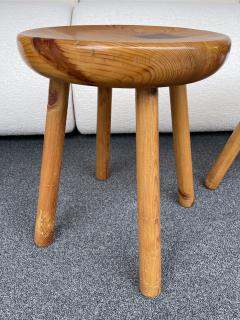 Charlotte Perriand Pair of Pine Stool Attributed to Charlotte Perriand France 1960s - 2020173