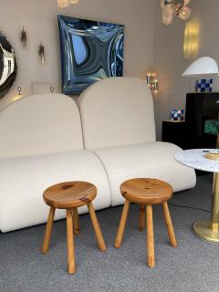 Charlotte Perriand Pair of Pine Stool Attributed to Charlotte Perriand France 1960s - 2020176