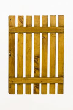 Charlotte Perriand Set of Four Pairs of Charlotte Perriand Slat Doors circa 1950 France - 811979