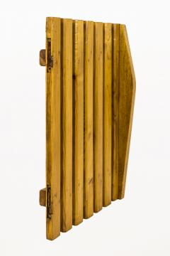 Charlotte Perriand Set of Four Pairs of Charlotte Perriand Slat Doors circa 1950 France - 811982