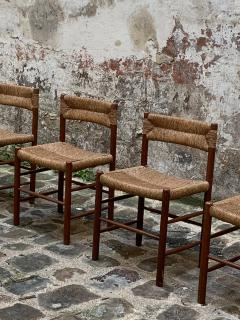 Charlotte Perriand Set of four Dordogne chairs for Sentou 1950s - 2054842