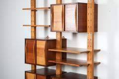 Charlotte Perriand Shelve system France 1970s inspired by Perriand Le Corbusier 1970s - 1638344