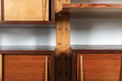 Charlotte Perriand Shelve system France 1970s inspired by Perriand Le Corbusier 1970s - 1638347