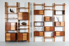 Charlotte Perriand Shelve system France 1970s inspired by Perriand Le Corbusier 1970s - 1638349