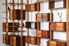 Charlotte Perriand Shelve system France 1970s inspired by Perriand Le Corbusier 1970s - 1638350