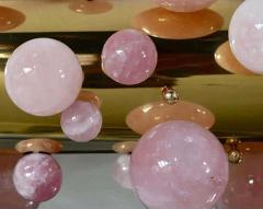 Cherry Blooms Bubble Ring Rock Crystal Chandelier by Phoenix - 2042172