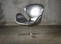 Cheryl Ekstrom Cheryl Ekstrom Swan Chair Stainless Steel Sculpture - 445468