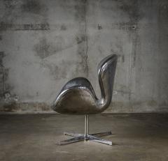 Cheryl Ekstrom Cheryl Ekstrom Swan Chair Stainless Steel Sculpture - 445470